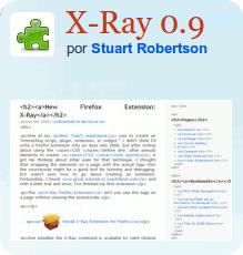 x-ray X-Ray - Extensión Firefox para desarrolladores web