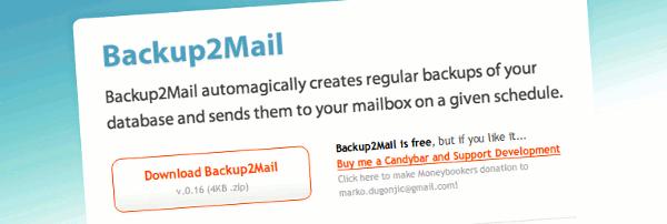backup2mail