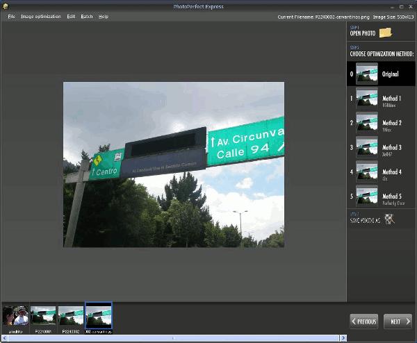 photoperfect-express-interfaz 6 Programas gratis para optimizar y editar imágenes