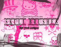 skulls-brushes-avril-lavigne