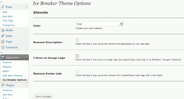 ice-breaker-theme-options-wordpress