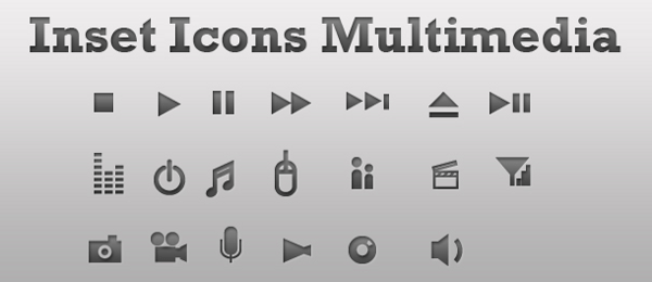 Inset Icons Multimedia - Preview