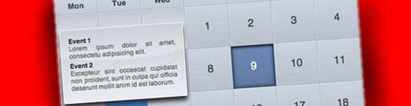 jquery-ical-like +9 Plugins jQuery para calendarios y selectores de fecha