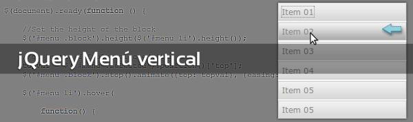 jquery-vertical-menu