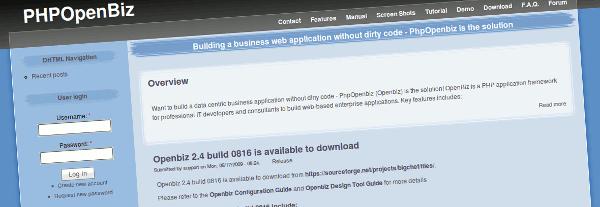 php-openbiz-framework