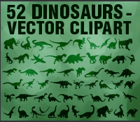 vectors-dinasours