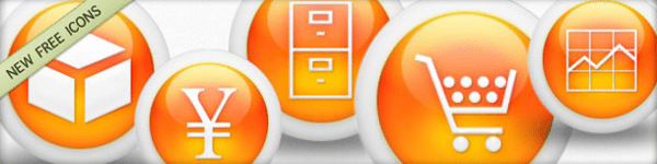 3d-glossy-orange-orbs-icons-business