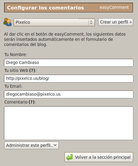 Pantallazo-easyComment-Extension