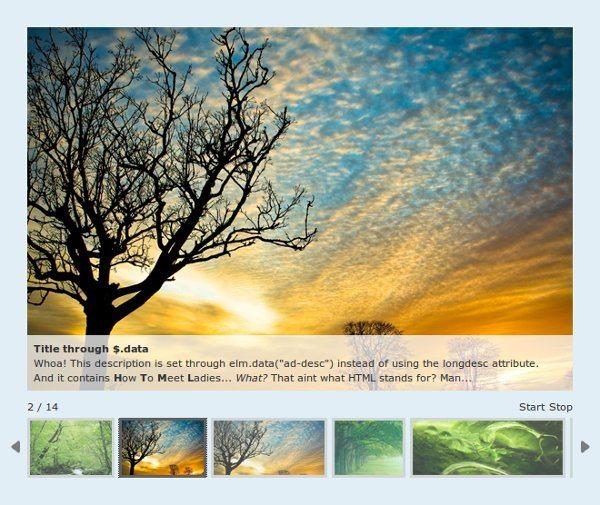AD Gallery - jQuery plugin | Ejemplo