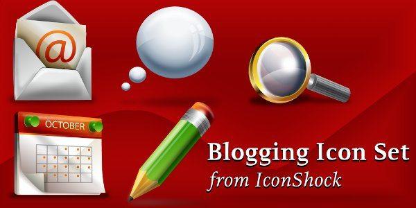 bloggin-icon-set