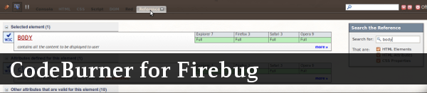 codeburner-for-firebug
