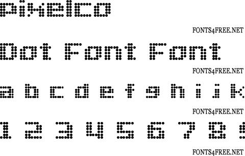 dot-font