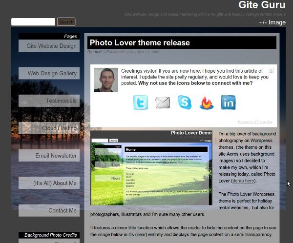 photo-lover-wordpress-theme 13 Modernos templates para Wordpress gratis