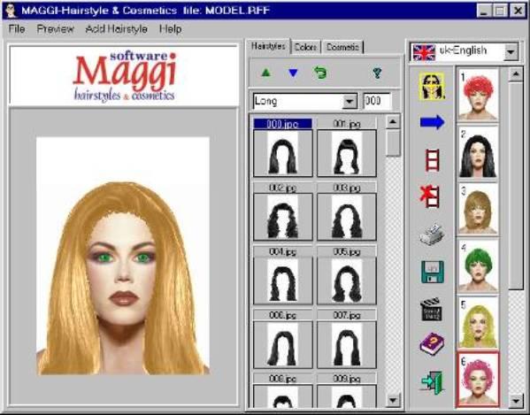 3 Maggi 60 cortes de pelo