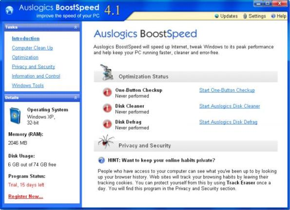 3 Auslogics BoostSpeed windows mejor