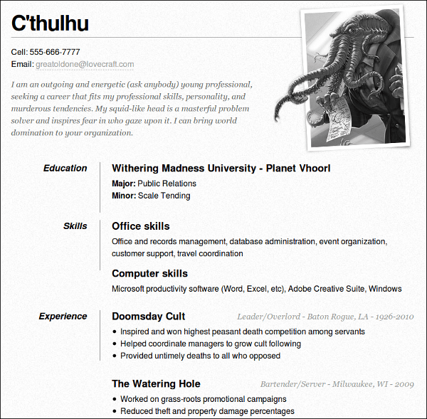 Curriculum - Muestra