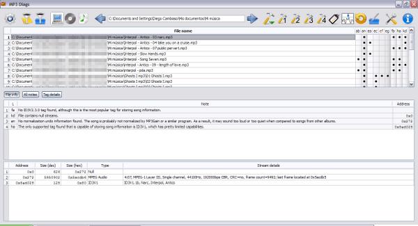 mp3-diags MP3 Diags - Programa gratis para detectar y reparar problemas en archivos MP3