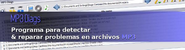 mp3-diags1 MP3 Diags - Programa gratis para detectar y reparar problemas en archivos MP3