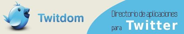 twitdom Twitdom - Directorio con recursos para Twitter