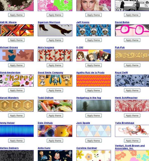 2-Google-Chrome-temas-artistas-new Gran cantidad de temas gratis para adornar tu Google Chrome