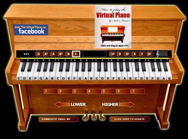 2-The-Virtual-Piano The Virtual Piano: Piano virtual para tocar desde Internet