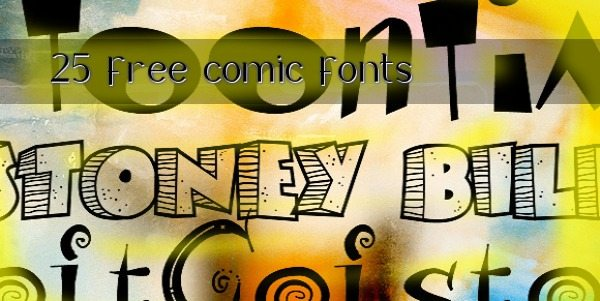 25-free-comic-fonts 25 free comic fonts - Tipografias gratis