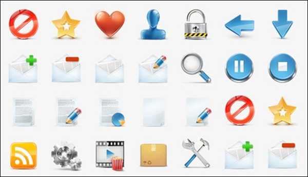 3D Free Icon Set - Medialoot