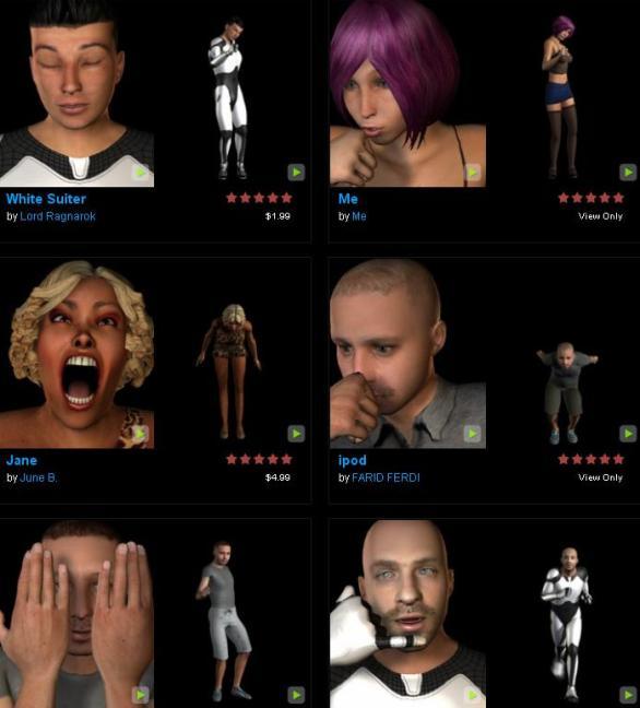 4-Avatara-avatares-en-3D-web Avatara: Creen un avatar animado de ustedes mismos