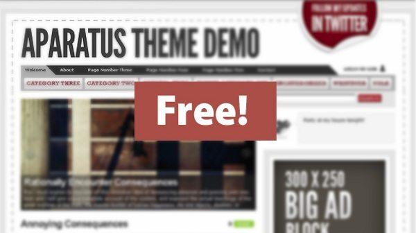 aparatus-wordpress-theme 13 Themes gratis para Wordpress del 2010