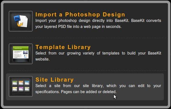 basekit-opciones Basekit - Herramienta online de desarrollo web