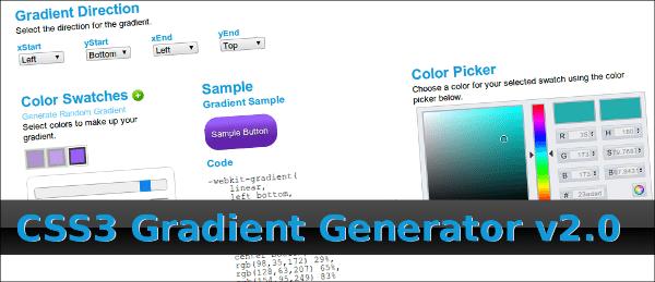 css3-gradient-generator 14 Recursos para trabajar con CSS3