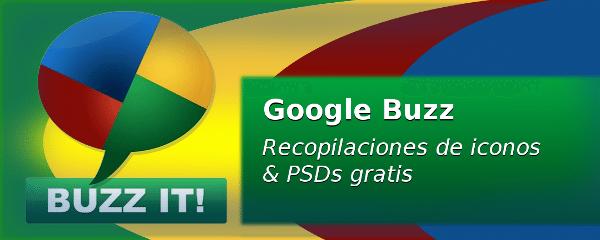 Google Buzz - Iconos & PSD