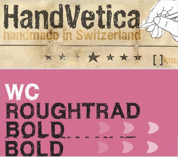 hand-writen-fonts Variada y extensa recopilación de fuentes gratis