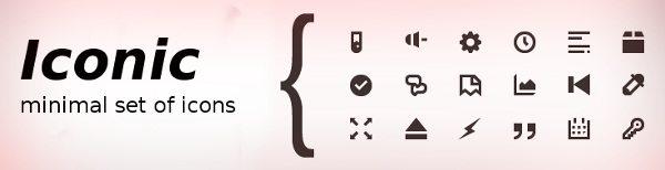 iconic-minimal-icons-set Iconic - 103 Iconos minimalistas