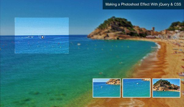 photoshoot-jquery Efecto Photoshoot con jQuery y CSS