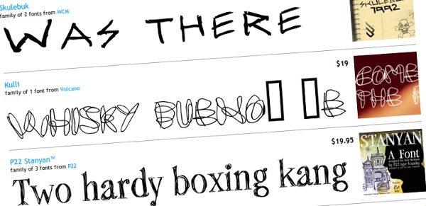 Sketch Fonts