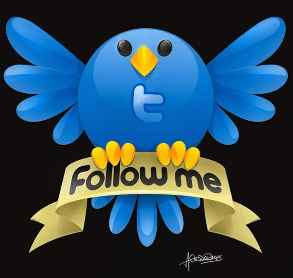 Twitter Folow Me - Icon