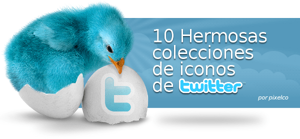Twitter Icons Collection - por Pixelco