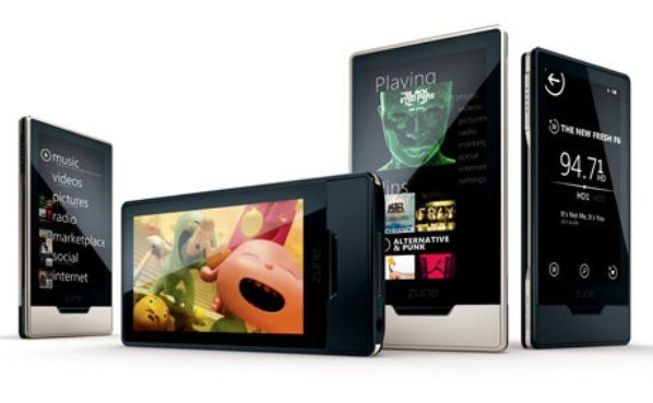 5-Zune-HD-mulrimedia-portatil Zune HD: Un reproductor multimedia portátil de última generación