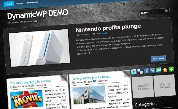 Black-Stone-Theme-Wordpress 18 Modernos themes para Wordpress para descargar gratis