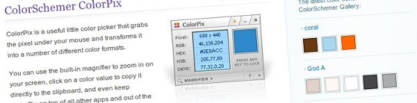 ColorSchemer ColorPix