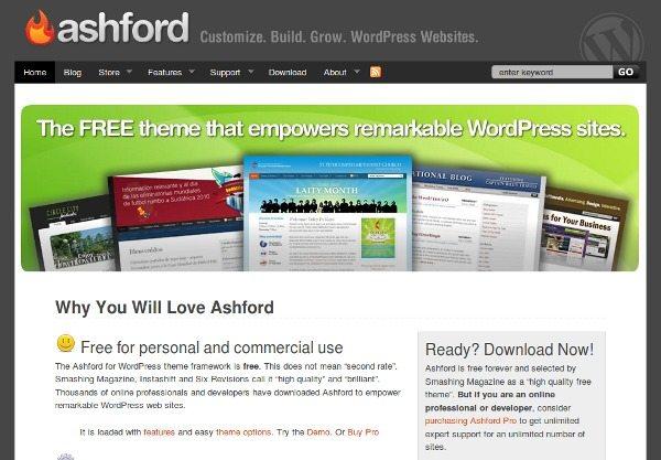 asford-theme-wordpress 18 Modernos themes para Wordpress para descargar gratis