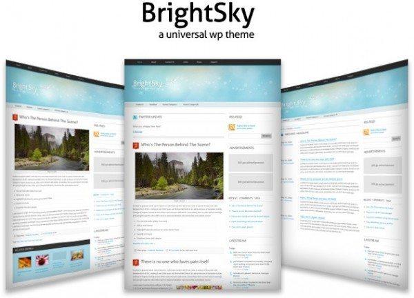 brightskye-theme-wordpress-600x432 18 Modernos themes para Wordpress para descargar gratis