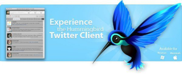 Hummingbird - Cliente Twitter Adobe Air