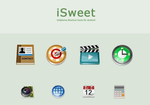 iSweet - Adroid icons set
