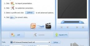 Leawo PowerPoint to video - interfaz