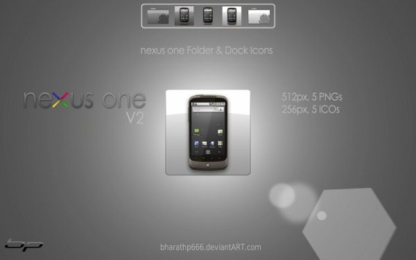 nexus one - Dock Icons