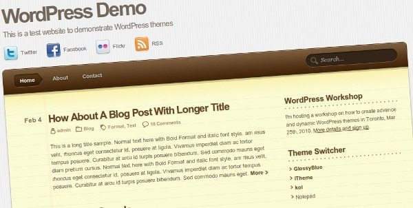 notepad-theme-wordpress