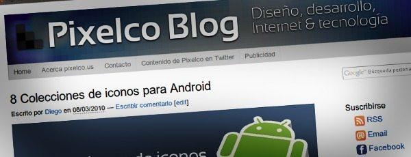 Pixelco Blog - Nuevo Template