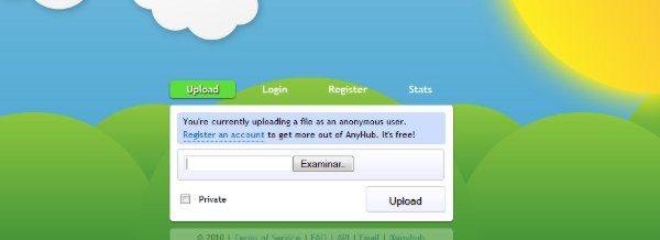 AnyHub - Hosting de archivos
